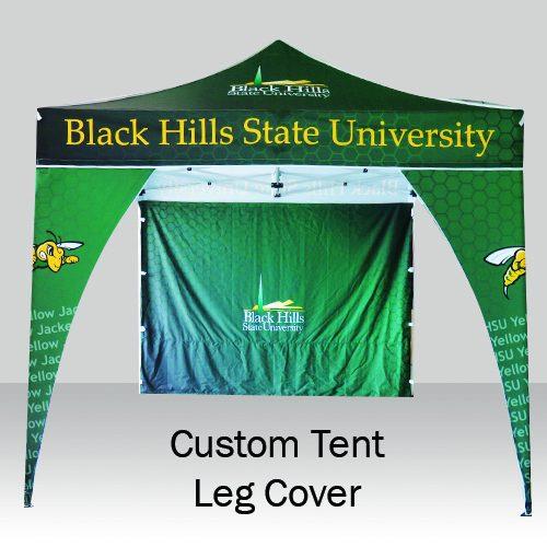 Custom Tent Leg Cover
