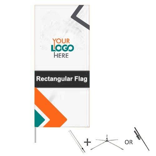 Custom Rectangular Flags