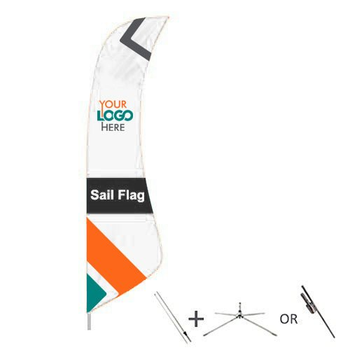 Shop for Sail Flags from OTC Canopies - best quality flag store in Canada