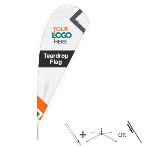 Buy teardrop flags from OTC Canopies