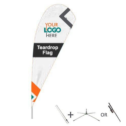 Buy teardrop flags from OTC Canopies