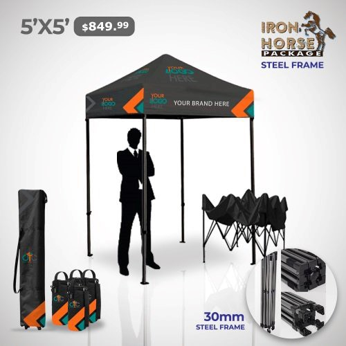 5x5 Custom Tent